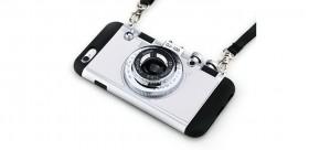 Case de Iphone 6s plus diseño de cámara 3D